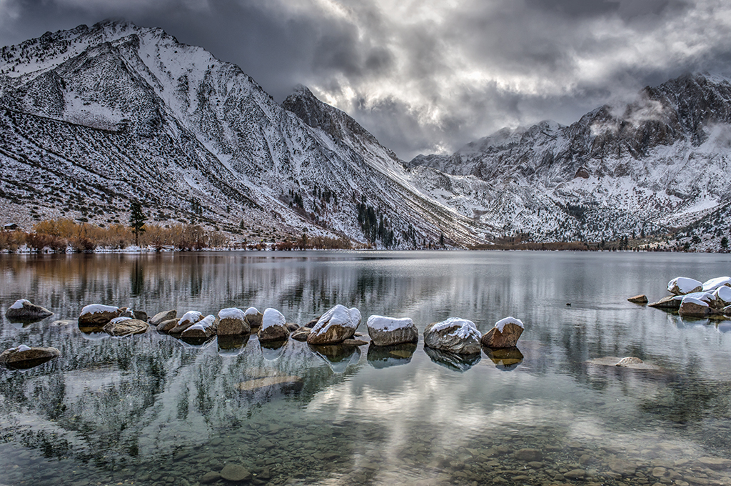 36Open Steve Friedman 1 Clearing Storm over Convict Lake